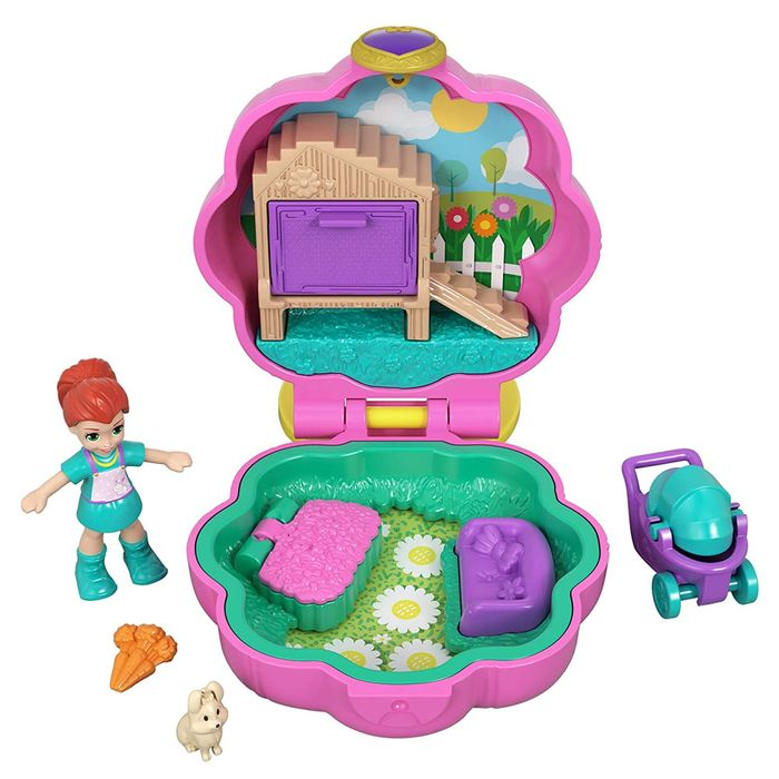 Polly Pocket Mini Estojo- Mattel