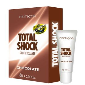 Gel Eletrizante - Total Shock Chocolate - FEITIÇOS AROMÁTICOS
