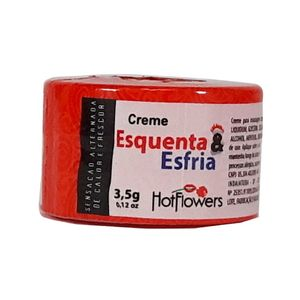 Creme Excitante Esquenta e Esfria - HOT FLOWERS