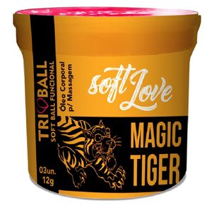 Bolinha Funcional Softball - Magic Tiger - Soft Love