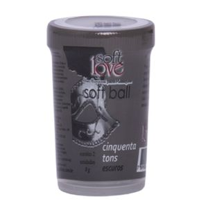 Bolinha Softball 50 Tons mais Escuros Tri ball funcional 3 uni – SOFT LOVE