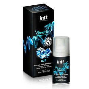Gel Excitante Beijável Vibration Ice - INTT