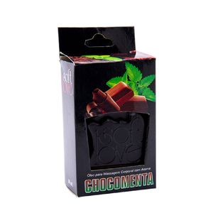 Gel Hot Aromatizado 30ml - Chocomenta - Soft Love