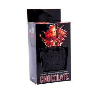 Gel Hot Aromatizado 30ml - Chocolate - Soft Love