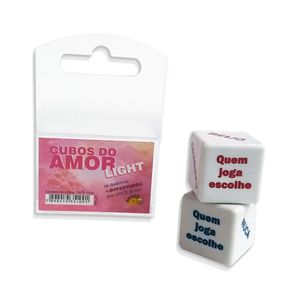 Dado Cubo do Amor Light - Provalin