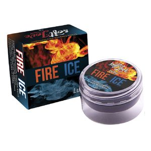 Pomada Excitante Unissex Esquenta & Esfria Luby Fire & Ice - 4g - SOFT LOVE