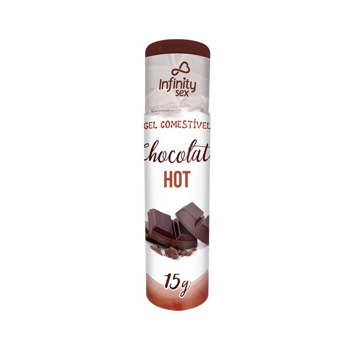 Gel Comestível Chocolate Hot - 15gr - INFINITY SEX