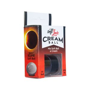 Cream Ball Facilit Eclipse Black Diamond - 4g - SOFT LOVE