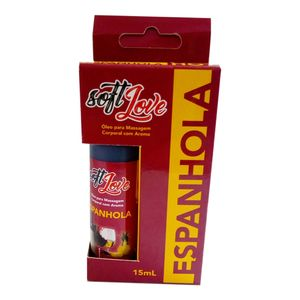 Gel Hot Aromatizado 15ml - Espanhola - SOFT LOVE