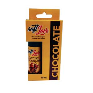 Gel Hot Aromatizado 15ml - Chocolate - SOFT LOVE