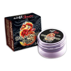 Pomada Excitante Unissex e Lubrificante Luby Dragon Fire - 4g - SOFT LOVE