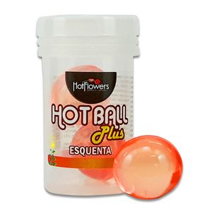 Bolinha Hot Ball Plus Dupla – Esquenta – 3g – Hot Flowers
