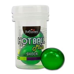 Bolinha Hot Ball Plus Dupla – Shock – 3g – Hot Flowers