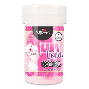 Bolinha Hot Ball Plus Dupla – Xana Loka – 3g – Hot Flowers