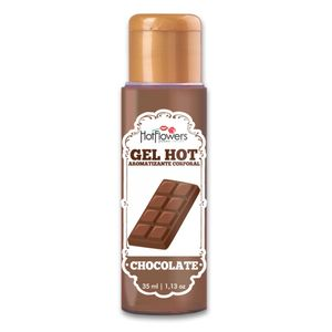 Gel Hot Aromatizante Corporal – Sabor Chocolate – 35ml – Hot Flowers