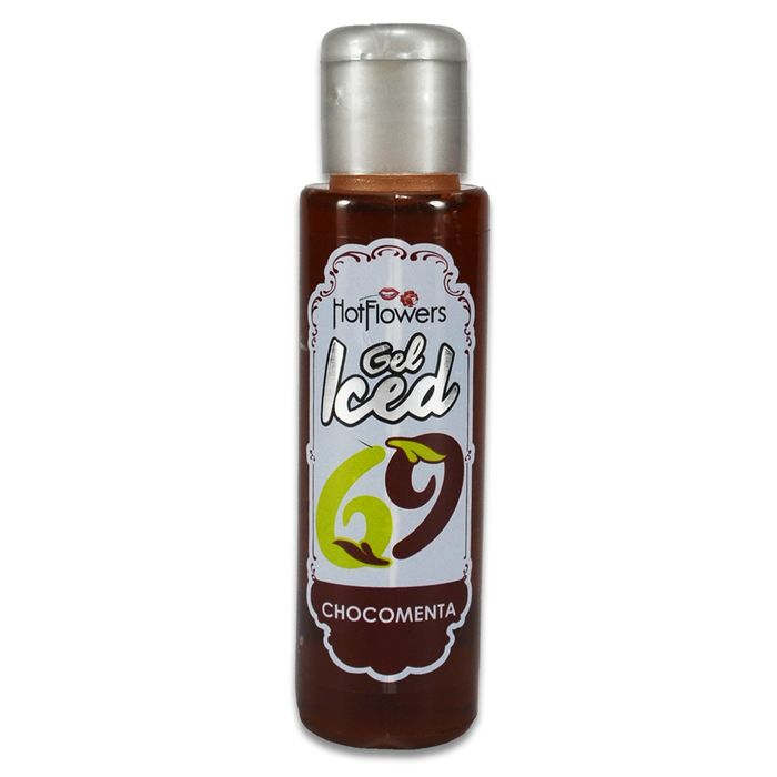 Gel Iced Aromatizante Corporal – Sabor Chocomenta – 35ml – Hot Flowers