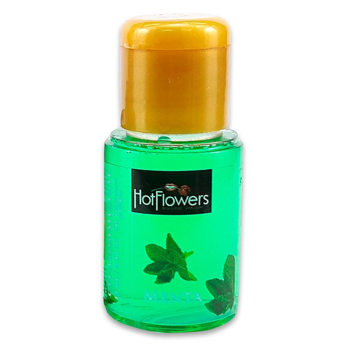 Gel Hot Aromatizante Corporal – Sabor Menta – 15ml – Hot Flowers