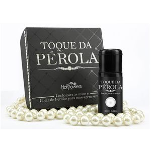 Kit Toque de Pérolas Colar e Loção 12ml – Hot Flowers