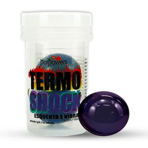 Bolinha Hot Ball Plus Dupla – Termo Shock – 3g – Hot Flowers