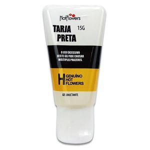 Gel Excitante Unissex Tarja Preta – 15g – Hot Flowers