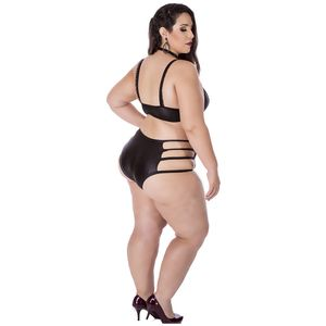 Hot Pants Sado Preto – Plus Size – Hot Flowers
