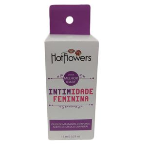 Excitante e Estimulante Intimidade Feminina – 15ml – Hot Flowers