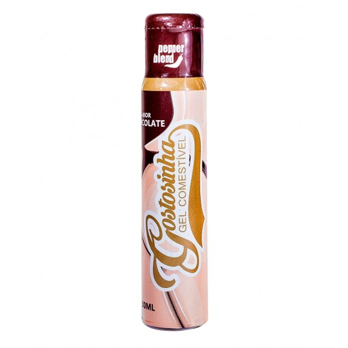 Gel Comestível Gostosinha Hot – Sabor Chocolate – 30g – Pepper Blend