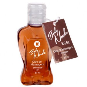 Gel Beijável Kgel Body Nude Hot – Chocolate – 37ml – K Import