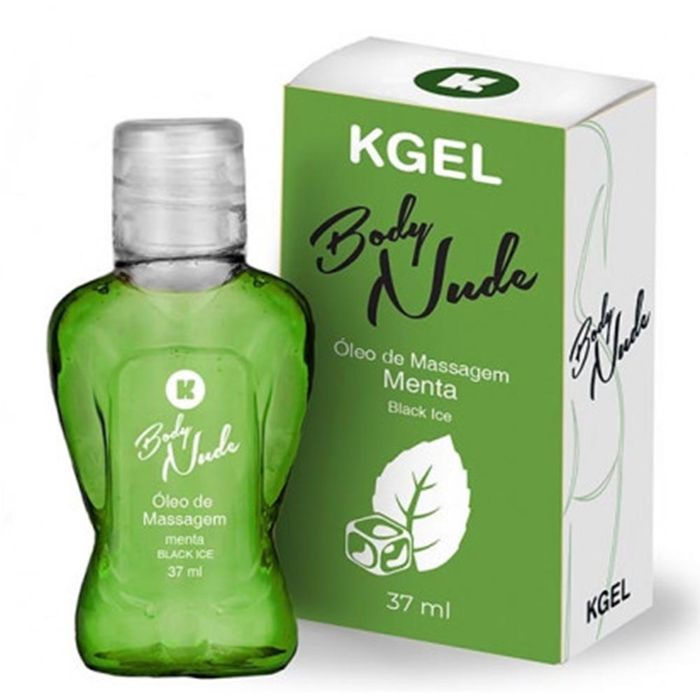 Gel Beijável Kgel Body Nude Ice – Menta – 37ml – K Import