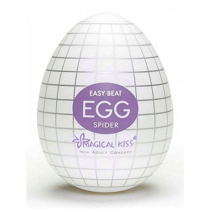 Masturbador Easy Beat Egg Spider Magical Kiss – Branco – Importado