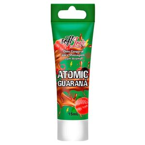 Gel Beijável Vibrador Líquido Extreme – Atomic Guaraná – 15ml – Soft Love