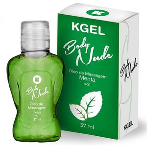 Gel Beijável Kgel Body Nude Hot – Menta – 37ml – K Import