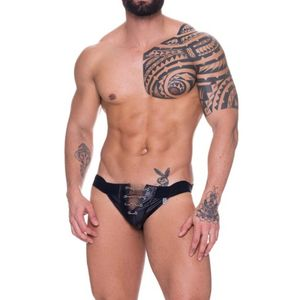 Jock de Couro com Correntes Frontal – SD Clothing Underwear