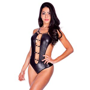 Body Fetiche – Preto – Tam. UN – Hot Flowers