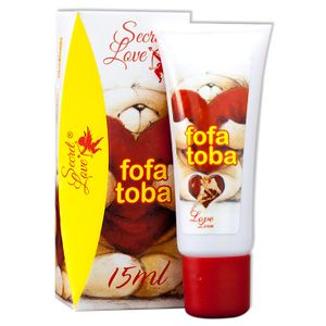 Excitante E Anestésico Anal Fofa Toba – 15ml – Secret Love