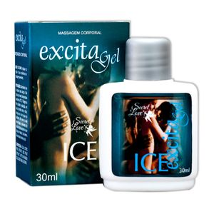 Gel Beijável Efeito Refrescante Excita Gel Ice – 30ml – Secret Love