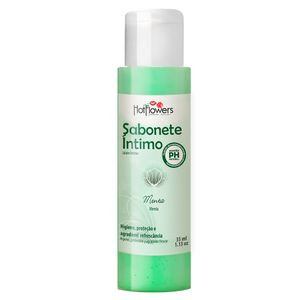 Sabonete íntimo – Menta – 35ml – Hot Flowers