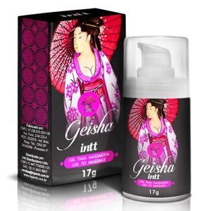 Gel Excitante Esquenta e Esfria Geisha – 17ml – Intt
