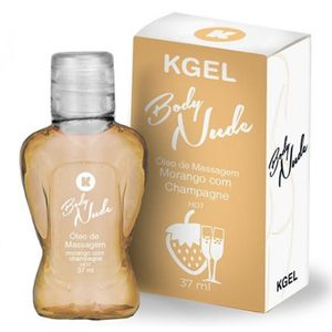 Kgel Body Nude Hot - Moranco C/ Champagne 37ml - K Import
