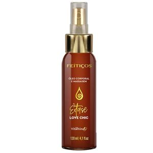 Oleo Massagem Love Chic Spray 120ml (feitiços Aromaticos)