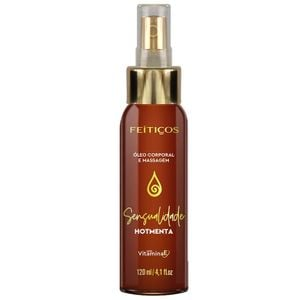 Oleo Massagem Hot Menta Spray 120ml (feitços Aromáticos)