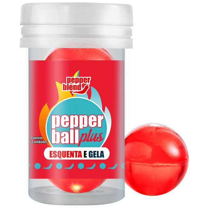 Bolinha Funcional Pepperball Plus - Esquenta E Gela - Pepper Blend
