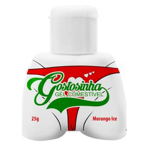 Gostosinha - Gel Comestivel Hot Ice Morango 25g (pepper Blend)