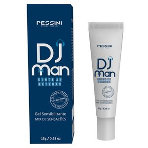 Dj Man Creme P/ Massagem 15g (pessini)