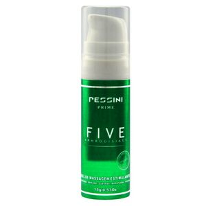 Five Aphrodisiac Gel De Massagem Estimulante 15g (pessini)