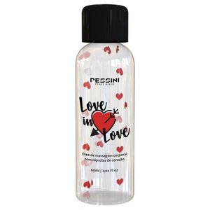 Love In Love - óleo De Massagem 60ml (pessini)