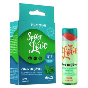 Spicy Love Ice Menta óleo 15ml (pessini)