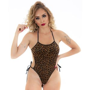 Mini Body Animal Print (pimenta Sexy)