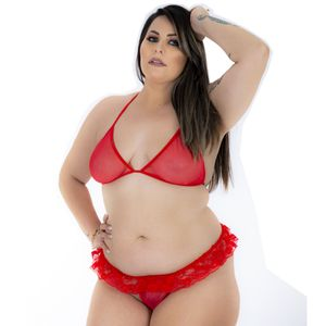Mini Conjunto Sex – Plus Size – Pimenta Sexy