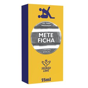 Gel Retardante para massagem Mete Ficha -  15ml - Segred Love